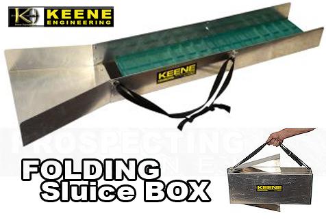 Keene Folding Sluice Box