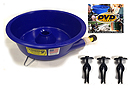 Blue Bowl and Levelers
