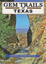Gem Trails of Texas Book