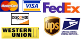 Credit Cards & Shipping