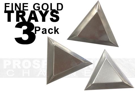 Aluminum Fine Gold Trays