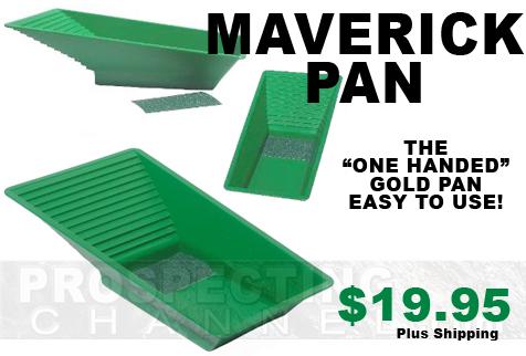 Maverick Gold Pan