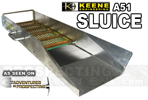 Keene Sluice Box